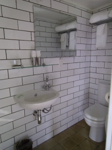 The bathroom in the Oast House